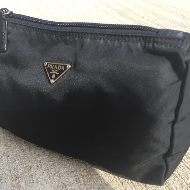 830642c419 Find more Authentic Prada Makeup Bag - Firm Price. for sale at up to ...