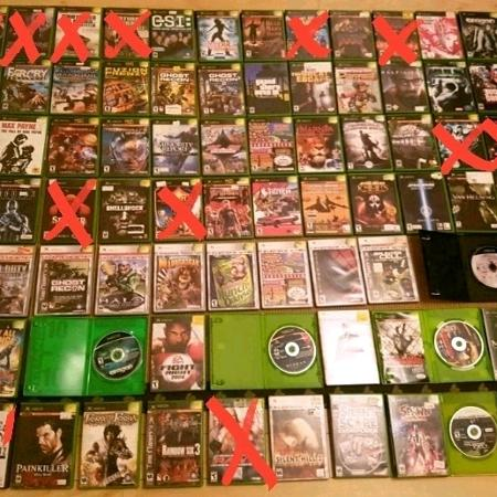 Used, XBOX GAMES LOT DE JEUX COLLECTION XBOX for sale  Canada