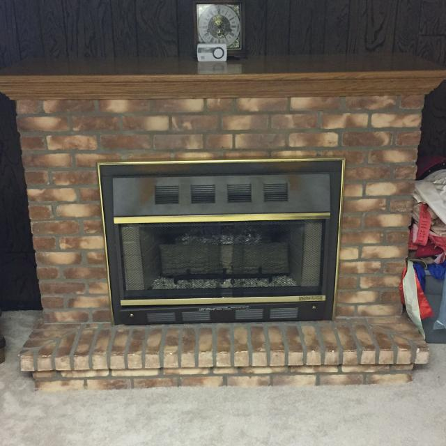 Martin Industries Gas Fireplace for sale at up to 90% off