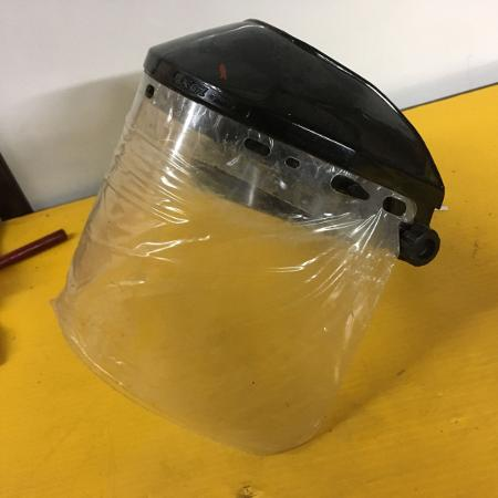 Used, Brand new plastic face shield for sale  Canada