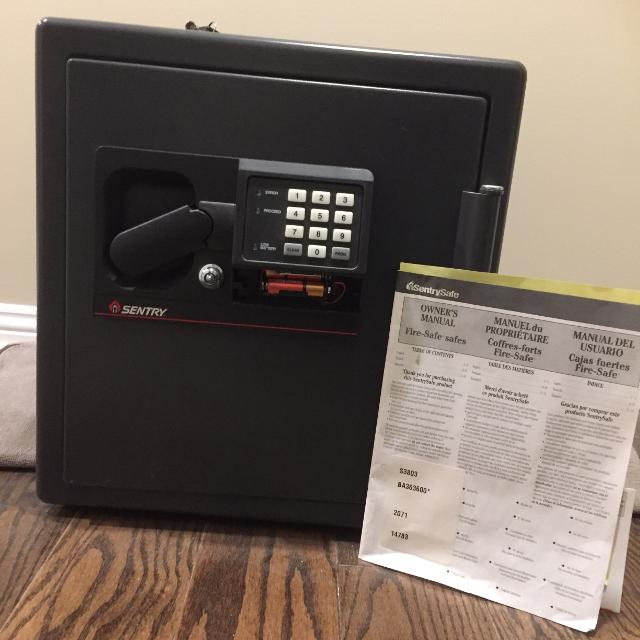 Sentry Safe Personal Safe - Never Used (sold at Costco)