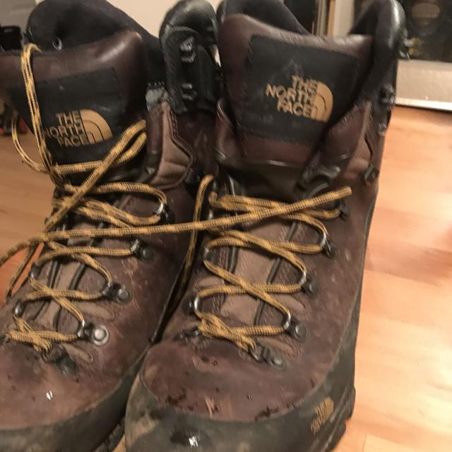 6a93e0568 North Face winter hiking boots 11.5/45