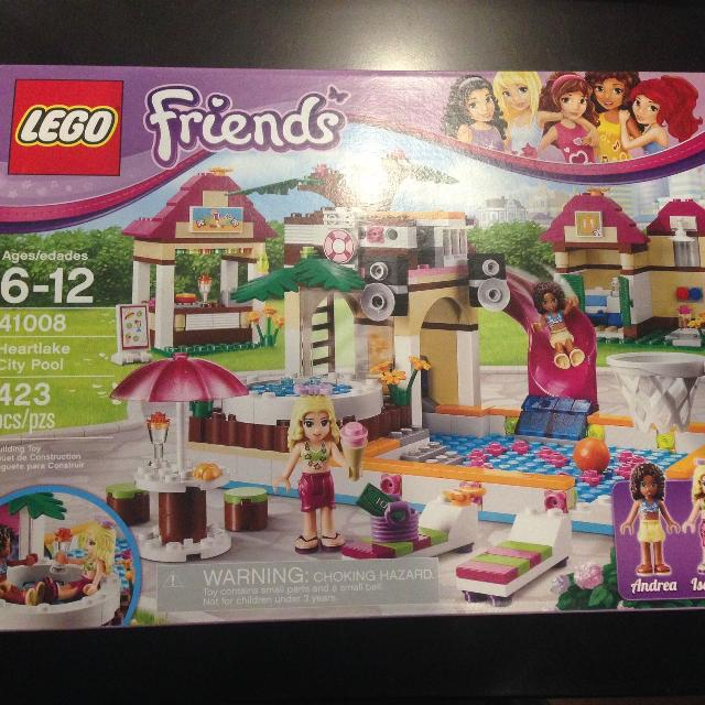 Find More Lego Friend Heartlake City Pool Retired For Sale At Up