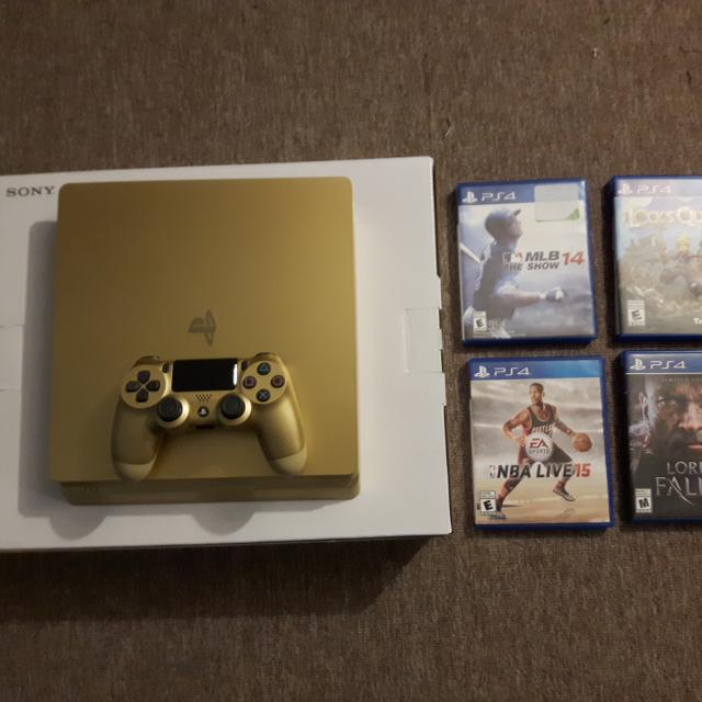 ps4 limited edition gold for sale