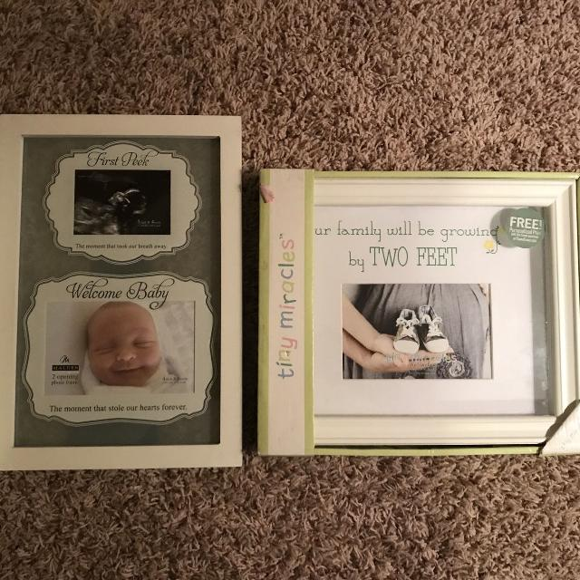 Find More 2 Frames For Baby Showers For Sale At Up To 90 Off