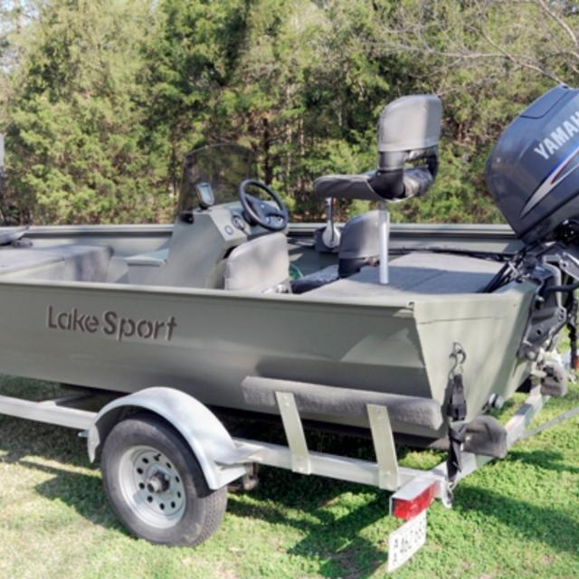 Best 2006 lake sport 1760sc bass boat w 50hp yamaha motor for Buy bass boat without motor