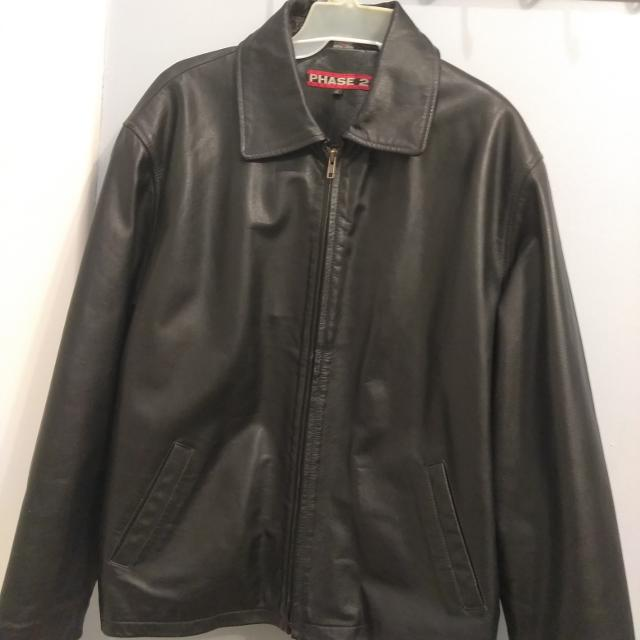 919a81c5c Phase 2 authentic leather jacket KL