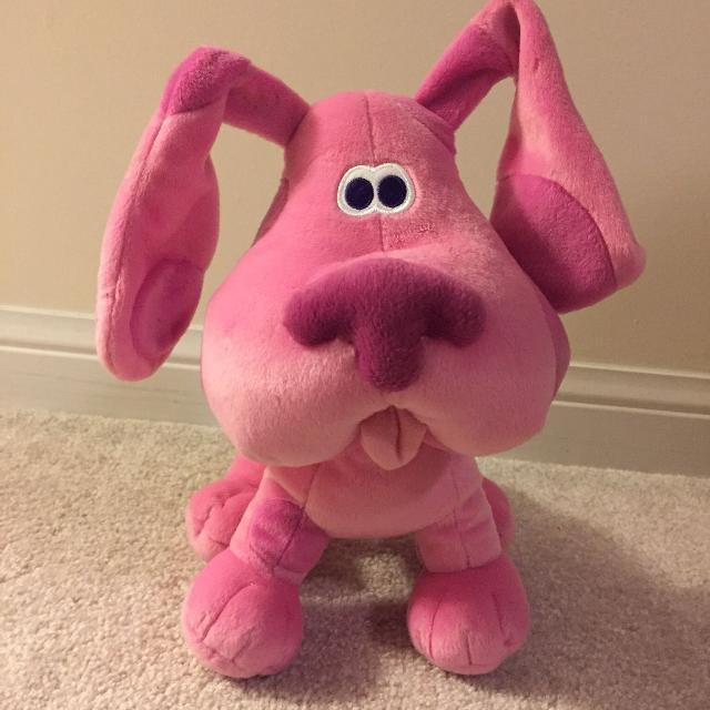 Find More Big Blues Clues Magenta Plush For Sale At Up To 90 Off