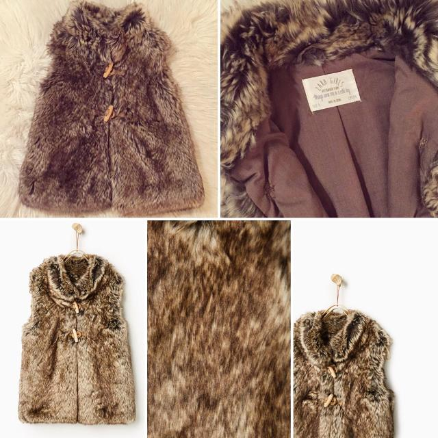 39d91b52 Find more Beautiful Faux-fur Vest From Zara Kids. Literally Worn For ...