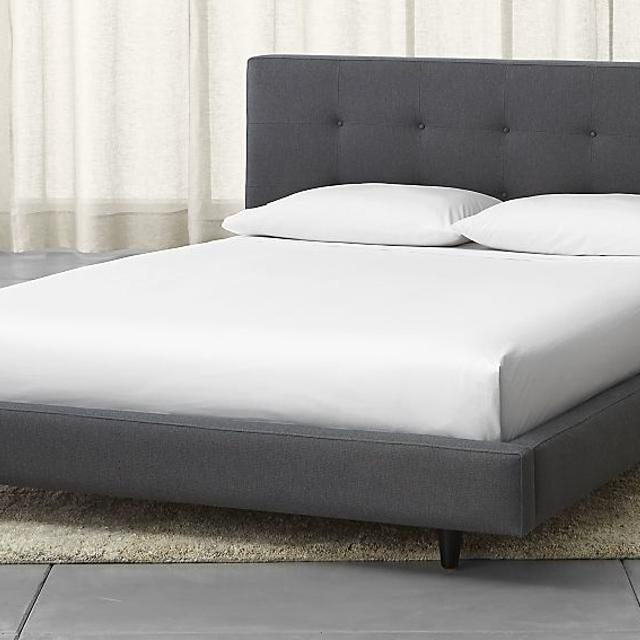 Best Crate And Barrel - Tate Bed Frame - Queen for sale in Richmond ...