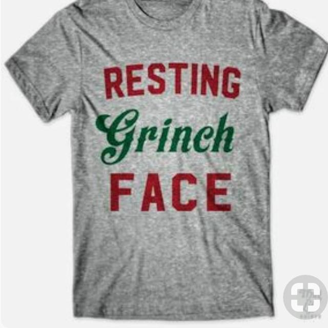 95e3fb3c165ec Best Resting Grinch Face Shirt..all Sizes!! for sale in Hendersonville