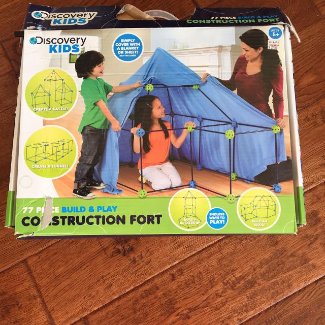 Find More Discovery Kids Fort Building Kit For Sale At Up To 90 Off