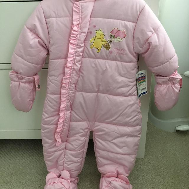 d370d694a Find more Baby Girl One Piece Snowsuit - Size 6-12 Month for sale at ...