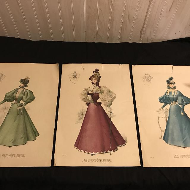 Find more Victorian French Fashion Prints From Fashion Magazine \