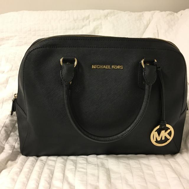 3249beef11ea Best Michael Kors Black Saffiano Handbag for sale in Vancouver, British  Columbia for 2019