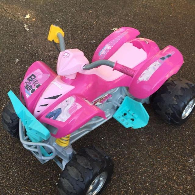Barbie Kawasaki Four Wheeler