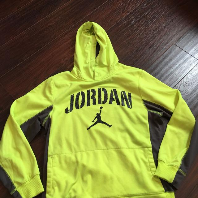 5a74d3f848d78e Best Jordan Hoodie Neon Yellow for sale in Brazoria County
