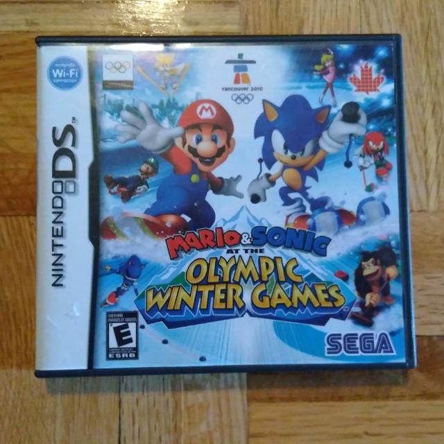 DS game Mario & Sonic at the Olympic Winter Games