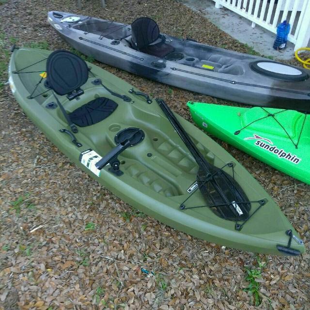 Best new tamarack 10 foot angler kayak for sale in ocala for Tamarack fishing kayak