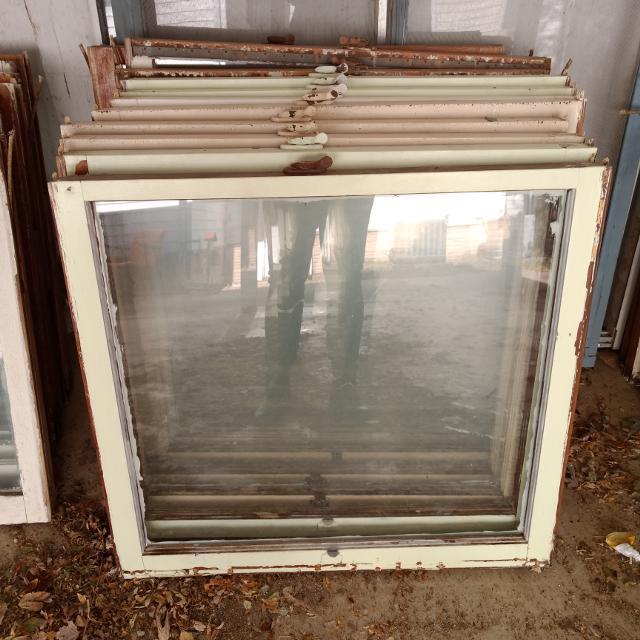 Old Single Pane Windows