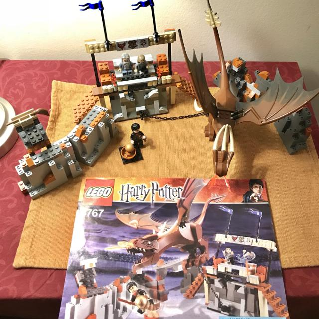 Harry Potter LEGO 4767 Harry and the Hungarian Horntail - Very Rare