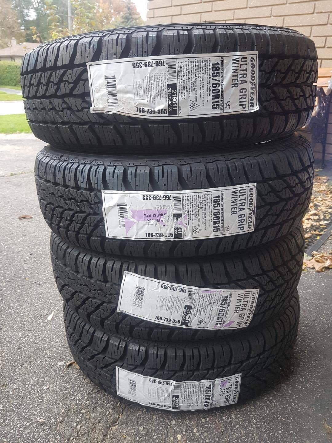 best 185 60r15 goodyear ultra grip for sale in oshawa. Black Bedroom Furniture Sets. Home Design Ideas