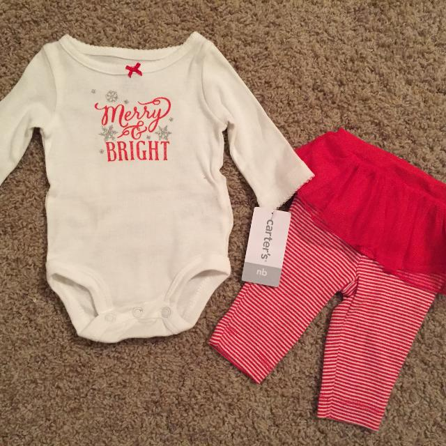 f90a64bde Best New Carter s Baby Girl Holiday Pajama Set With Tutu - Size ...