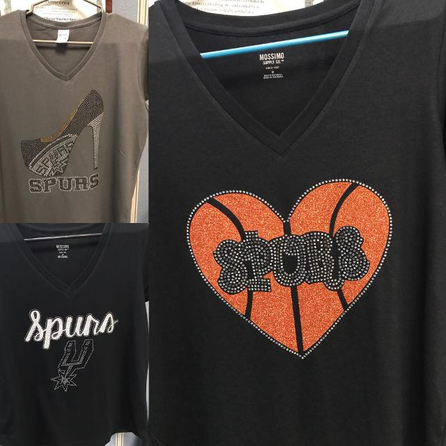 18a8f454675 Best Spurs Rhinestone T Shirts for sale in Potranco Road, San Antonio,  Texas for 2019