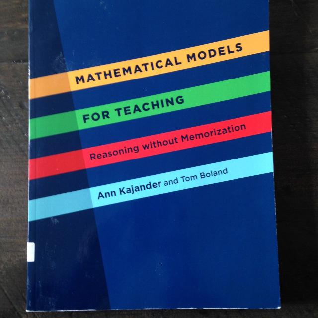mathematical models for teaching reasoning without memorization