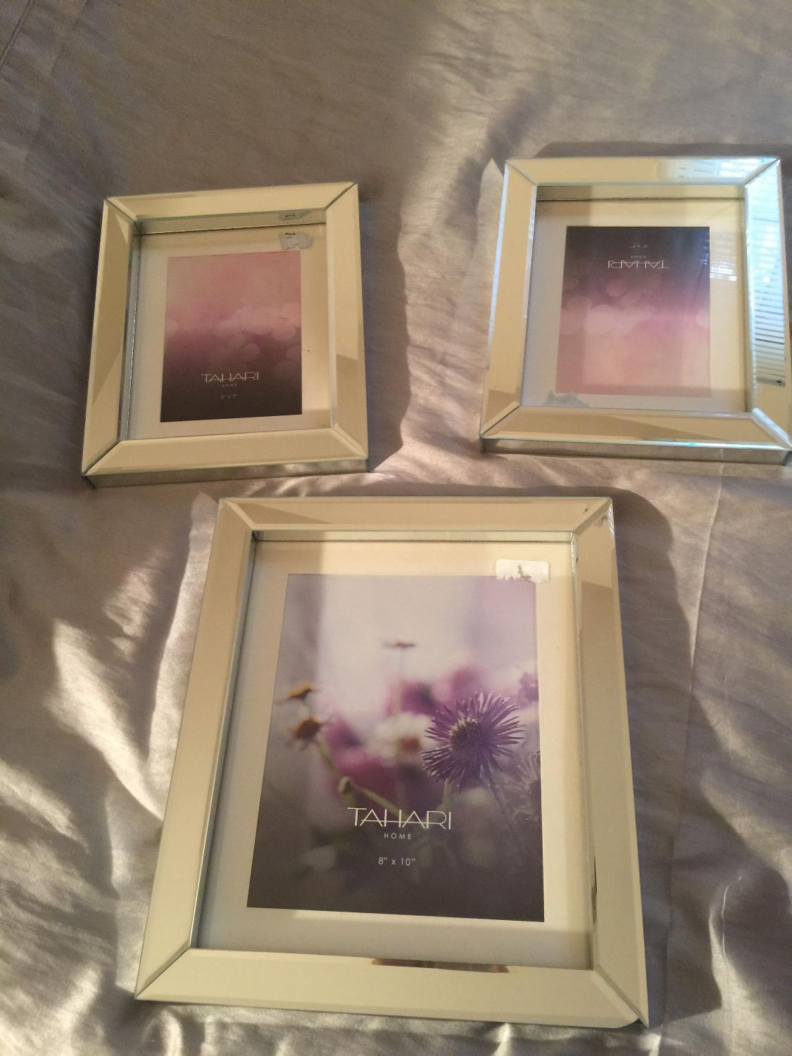 Best (new) Tahari Home Mirror Glass Picture Frames for sale in ...