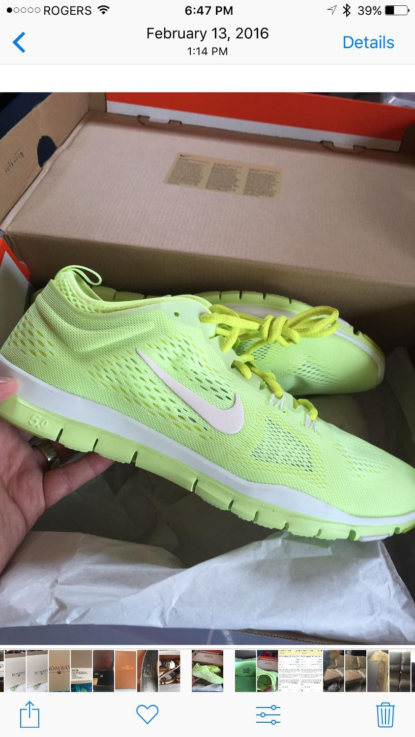 2256b8c0a602c Best Women s Nike Free Run 5.0 Running Shoes Size 11  40 for sale in  Markham