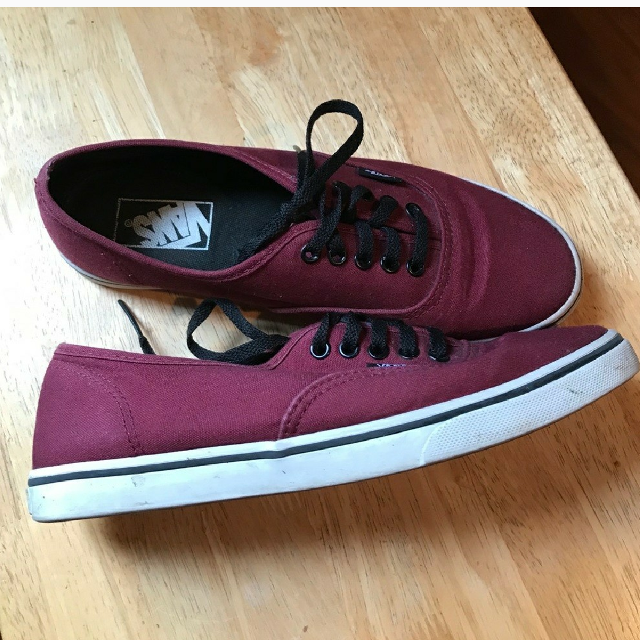 d8105cb4b7 Find more Maroon Vans Shoes for sale at up to 90% off