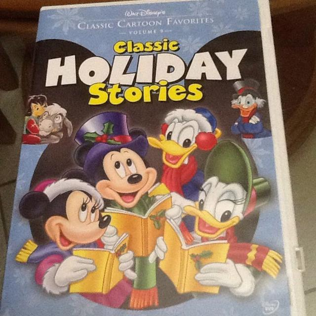 walt disneys classic holiday stories childrens christmas dvd ns - A Walt Disney Christmas Dvd