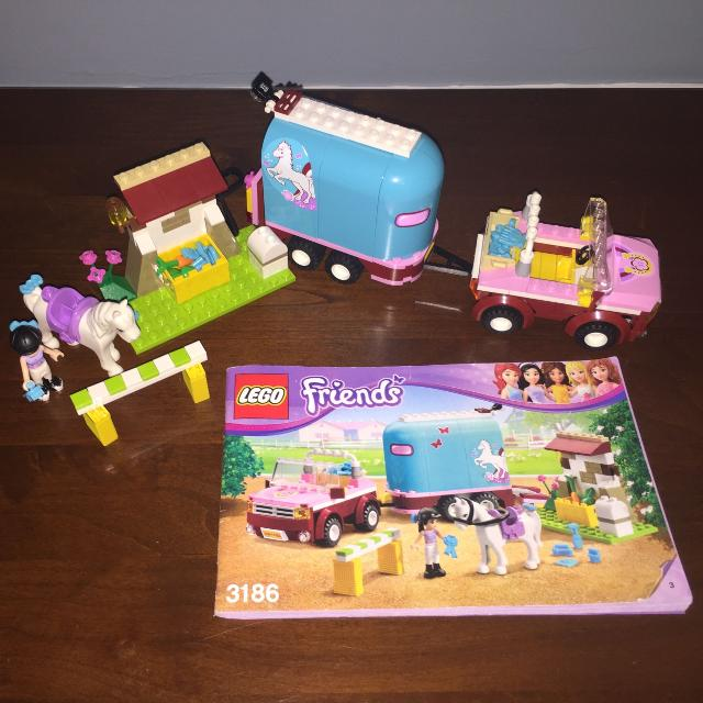 Find More Lego Friends Emmas Horse Trailer 3186 For Sale At Up To