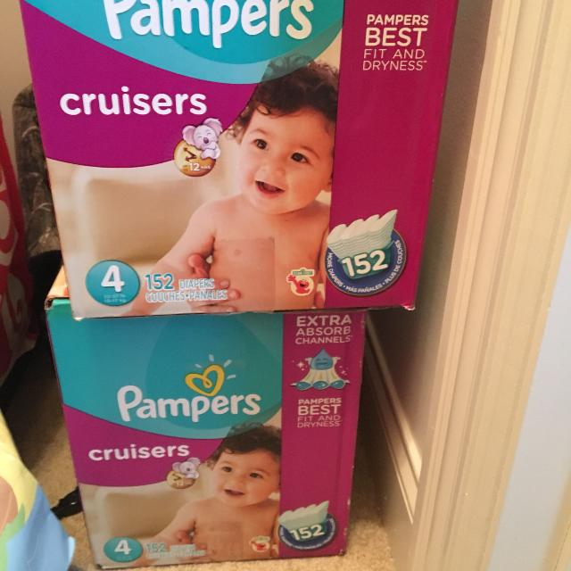 find more pampers cruisers size 4 152 pack for sale at up to 90 off
