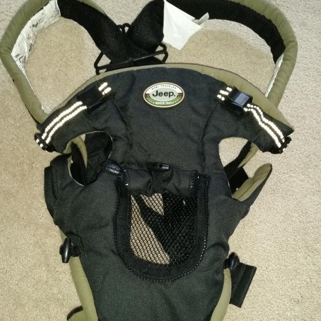0a223d5492e Best Jeep Baby Carrier. No Rips Or Stains. for sale in Parker ...