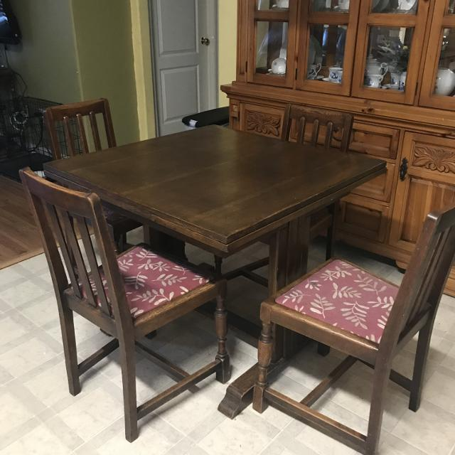Best Antique Dinning Room Table And Chairs For Sale In Katy Texas