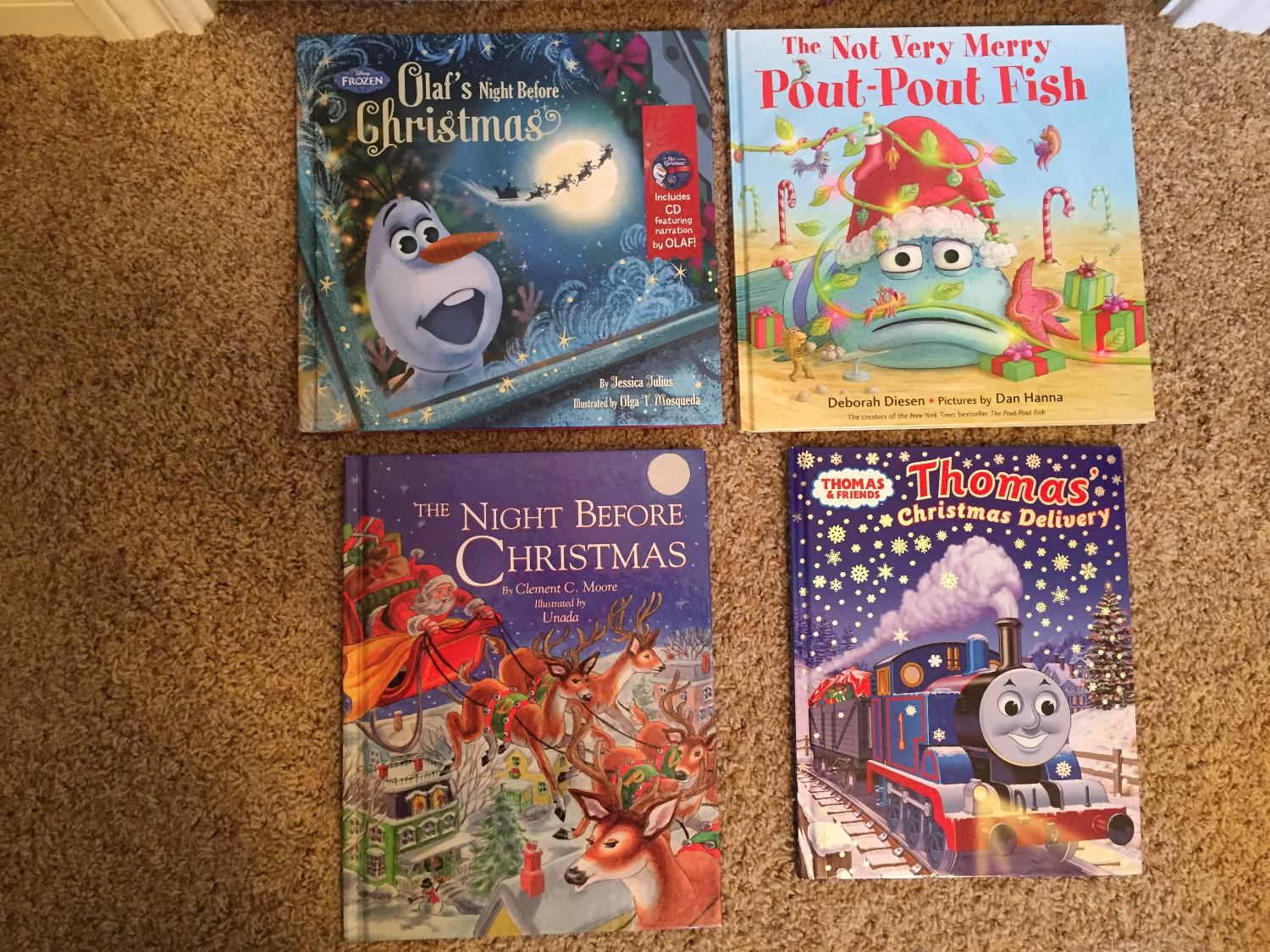 Find more 4 Hardcover Christmas Holiday Books - Favorite Characters ...