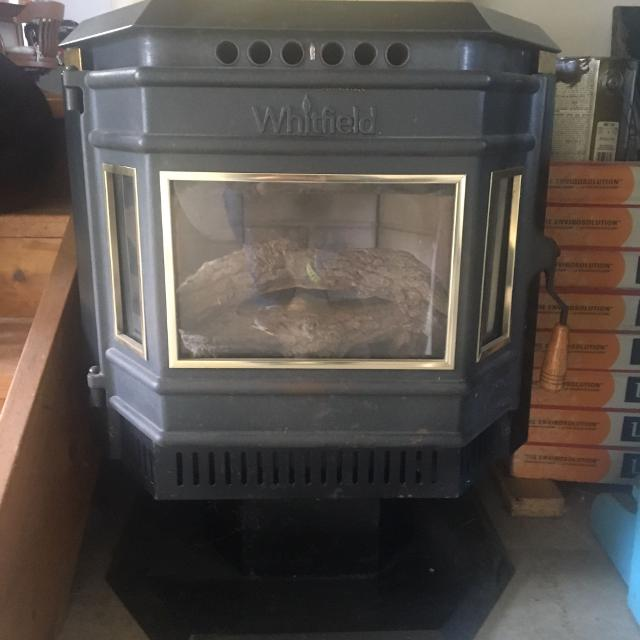 Best 45000 Btu Whitfield Pellet Stove 750 Or Best Offer For Sale In Erie Pennsylvania For 2020