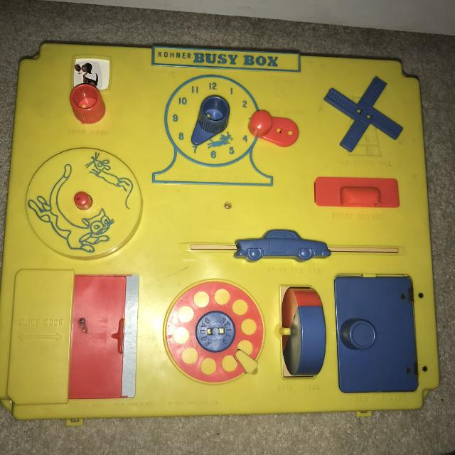 Find More Euc Vintage Busy Box By Kohner Crib Toy For Sale At Up