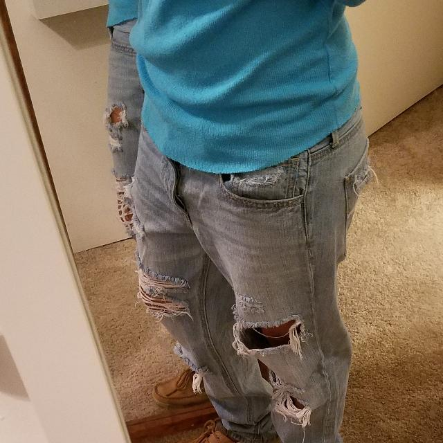 544349dd41 Best American Eagle Tomgirl Jeans for sale in Pensacola, Florida for 2019