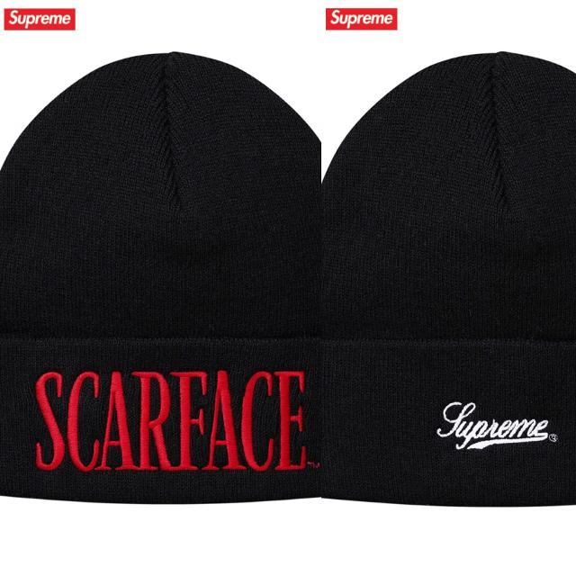 48cd8cedf82 Best Supreme Fw17 - Scarface Beanie (black) for sale in Brentwood ...