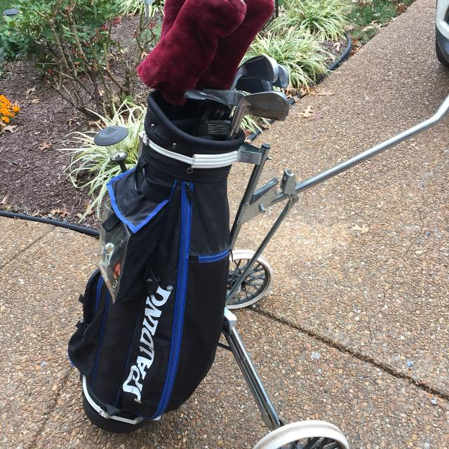 742c891a91 Find more Slazenger Golf Clubs, Spaulding Bag And Cart for sale at ...