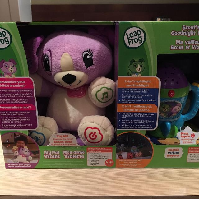 Best Paw Patrol My Pal Violet Scout Flashlight For Sale In Calgary