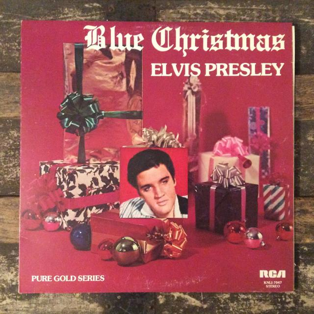 elvis presley blue christmas record - Blue Christmas By Elvis Presley