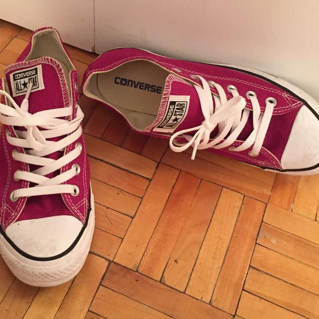 31c05d4b5ce8 Find more Pair Of Red Converse All Star Low-top Sneakers For Sale ...