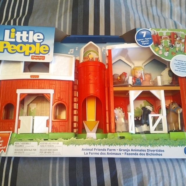Find More Fisher Price Little People Farm Set Bni For Sale At Up To