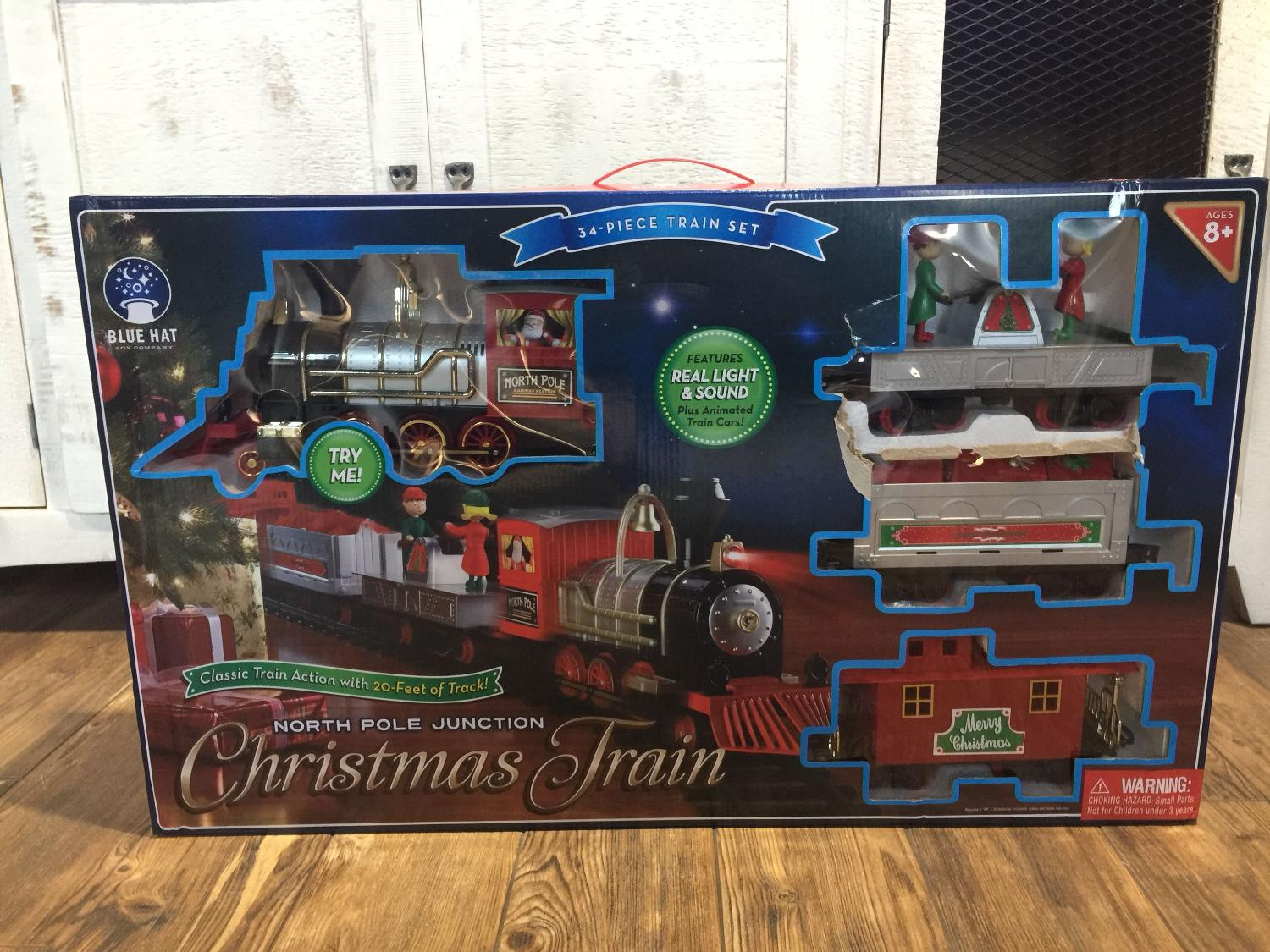 Find more Nib North Pole Junction Christmas Train for sale at up to ...