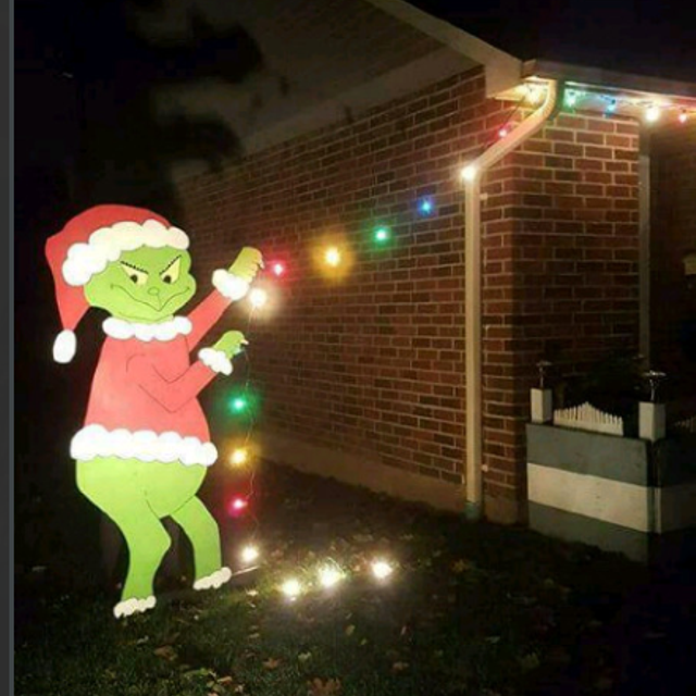 The Grinch and Max Outdoor Christmas Decor. - Find More Only 3 Left!! The Grinch And Max Outdoor Christmas Decor