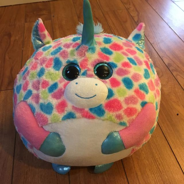 Find more Large Round Unicorn Beanie Boo for sale at up to 90% off 23482e00a51